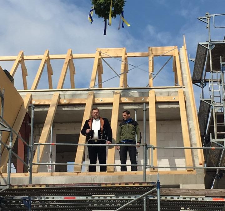 Janusufer – Richtfest und erste öffentlich Baustellenbesichtigung