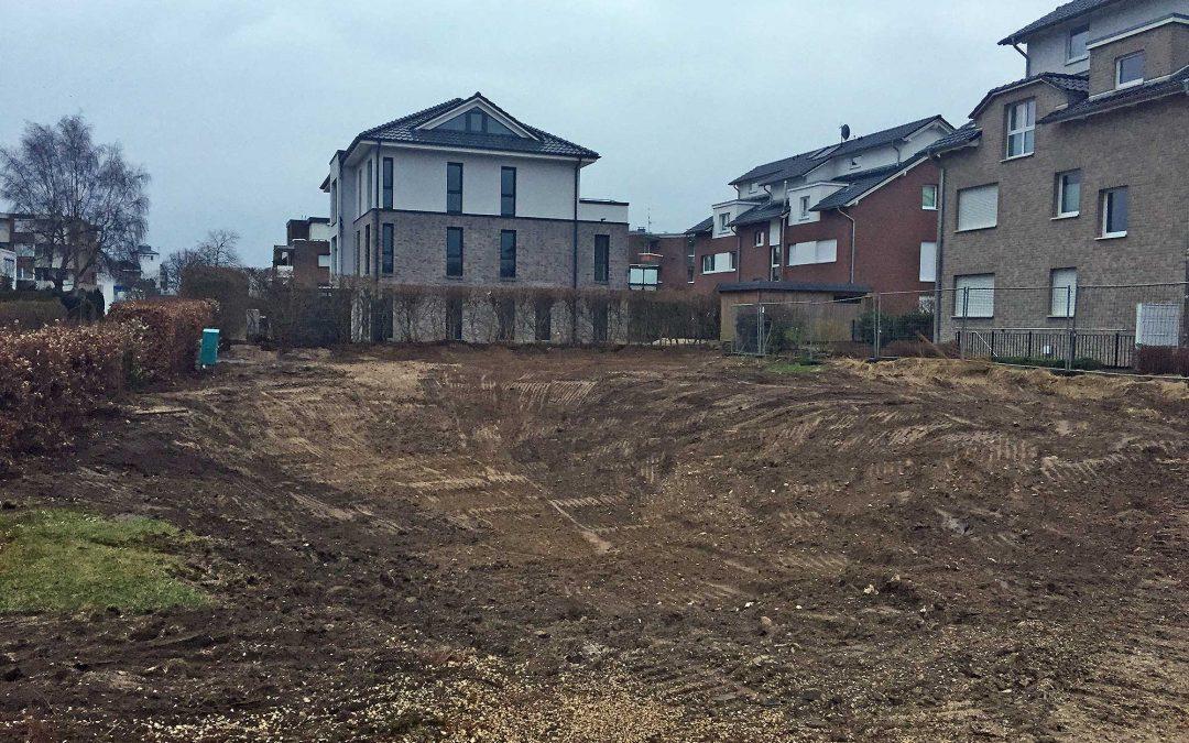 Moewenberg 18 – Grundstück ist geräumt